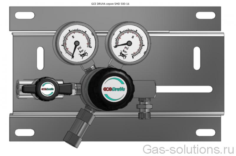 Газовая рампа GCE DRUVA серия SMD 500-16