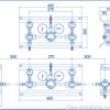 Газовая рампа Spectron серия BT2000-2L , чертеж