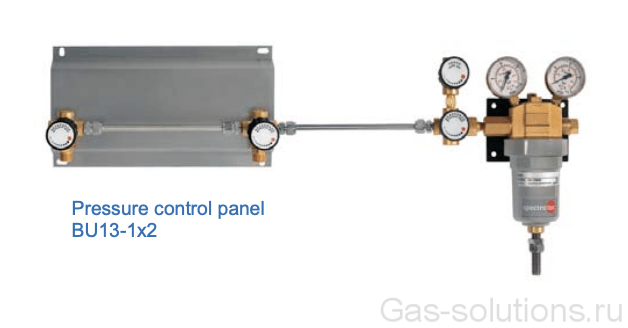 Газовая рампа Spectron серия BU13-1:-2 с блоком расширения