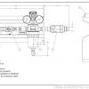 Газовая рампа Spectron серия BU13 АС для ацетилена, СХЕМА