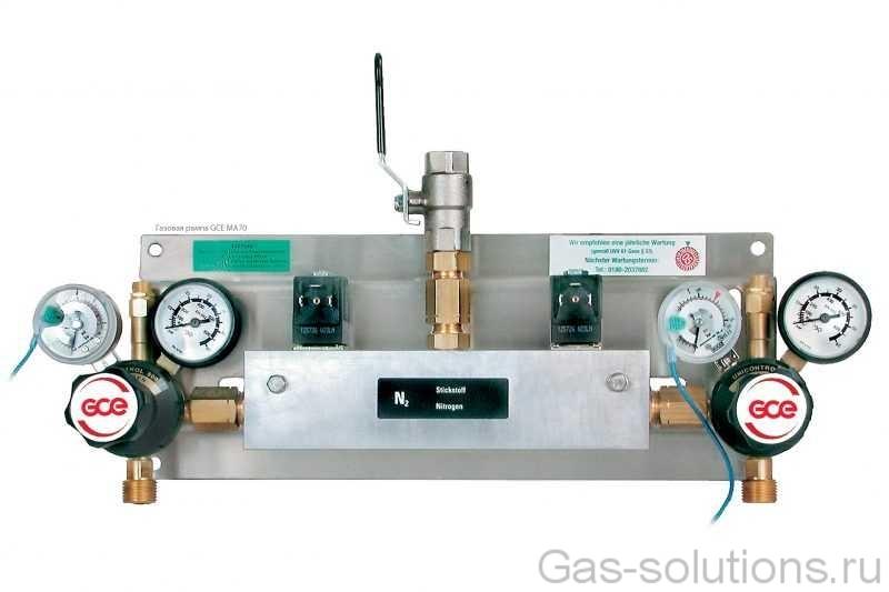 Газовая рампа GCE MA70