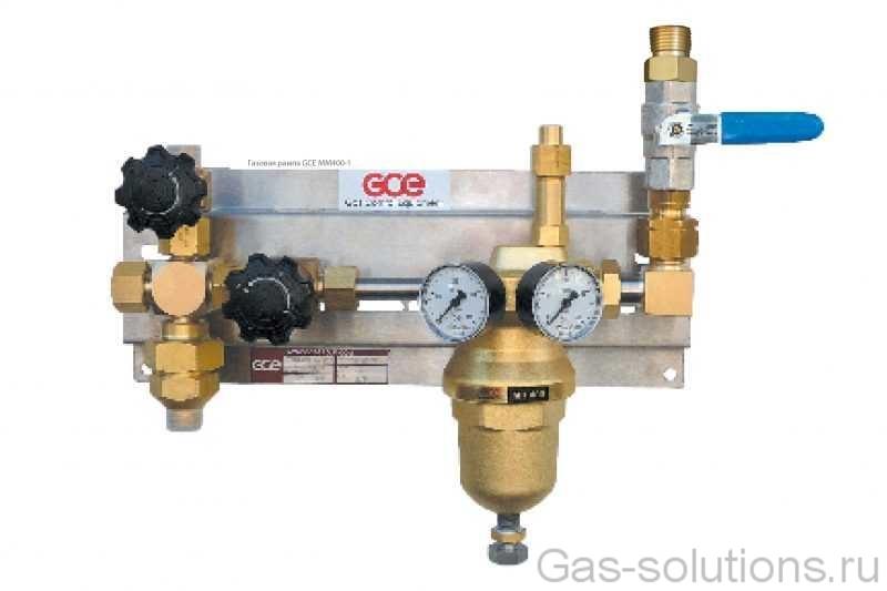 Газовая рампа GCE MM400-1