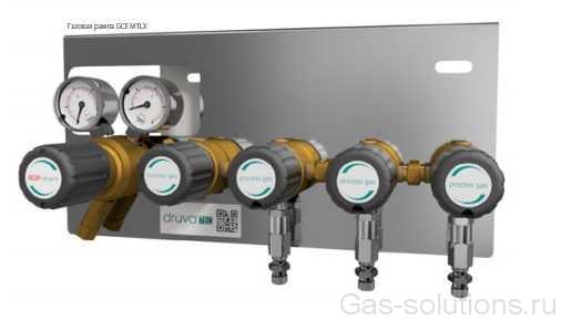Газовая рампа GCE MTLX без продувки с доп блоками