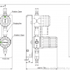 Газовая рампа GCE MTLM_схема