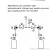 Газовая рампа GCE MTLS без продувки_схема