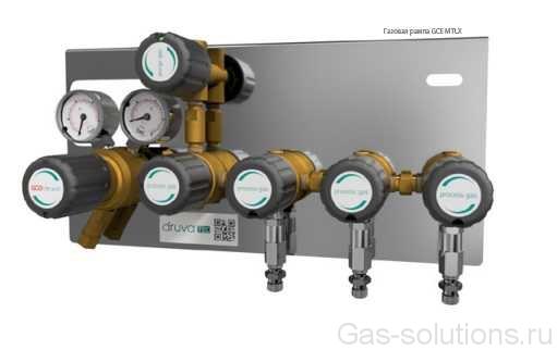 Газовая рампа GCE MTLX с продувкой и доп. блоками