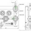 Газовая рампа GCE MTLX_ чертеж
