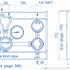 Газовая рампа Spectron серия BE56-2_чертеж