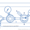 Газовая рампа Spectron серия BE66-1_чертеж1