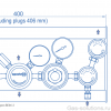Газовая рампа Spectron серия BE66-2_чертеж