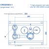Газовая рампа Spectron серия CRS 2000-1_чертеж