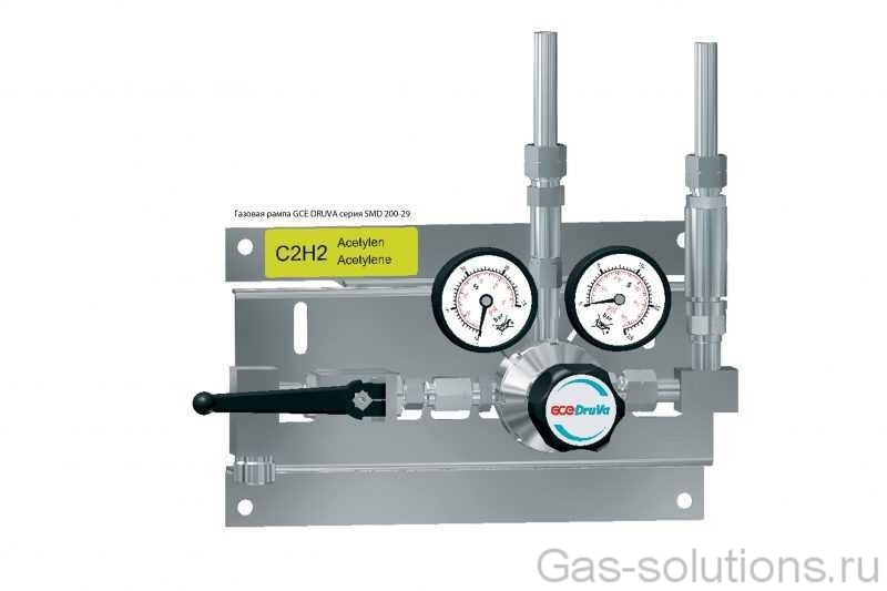 Газовая рампа GCE DRUVA серия SMD 200-29
