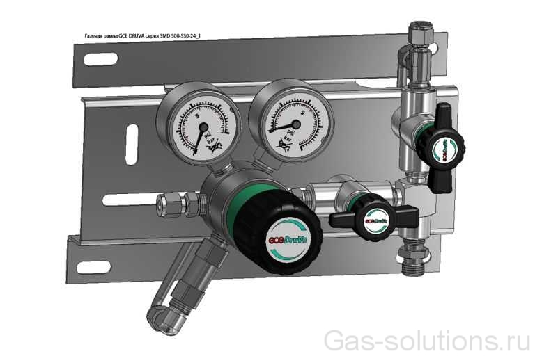 Газовая рампа GCE DRUVA серия SMD 500-530-24_1