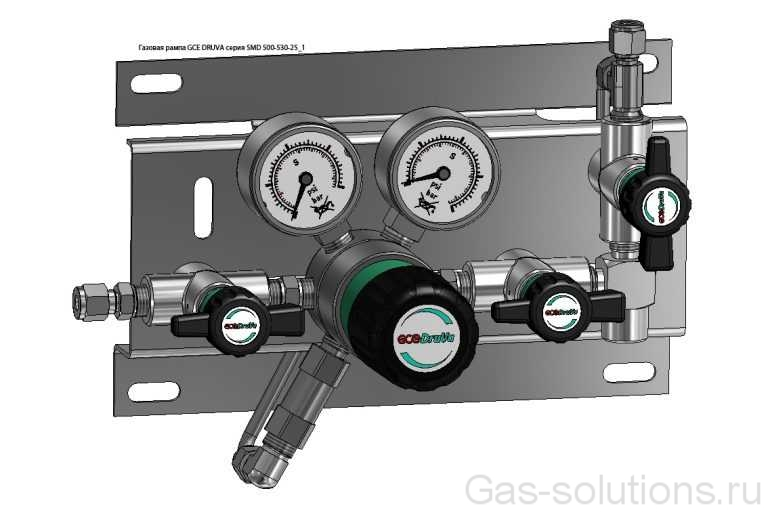 Газовая рампа GCE DRUVA серия SMD 500-530-25_1