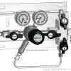 Газовая рампа GCE DRUVA серия SMD 500_530-27