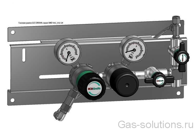 Газовая рампа GCE DRUVA серия SMD 502_532-24