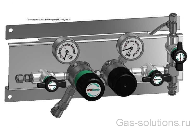Газовая рампа GCE DRUVA серия SMD 502_532-25