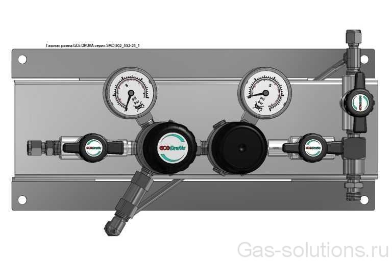 Газовая рампа GCE DRUVA серия SMD 502_532-25_1