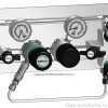 Газовая рампа GCE DRUVA серия SMD 502_532-26_27_1
