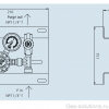 Газовая рампа Linde HiQ BASELINE серия S 101_чертеж