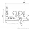 Газовая рампа Linde HiQ REDLINE серия A 208_чертеж