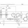 Газовая рампа Linde HiQ REDLINE серия A 209_чертеж