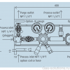 Газовая рампа Linde HiQ REDLINE серия A 308_чертеж