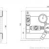 Газовая рампа Linde HiQ REDLINE серия D 204_чертеж