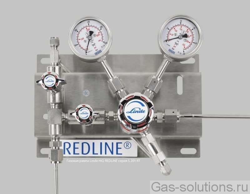 Газовая рампа Linde HiQ REDLINE серия S 201 RT