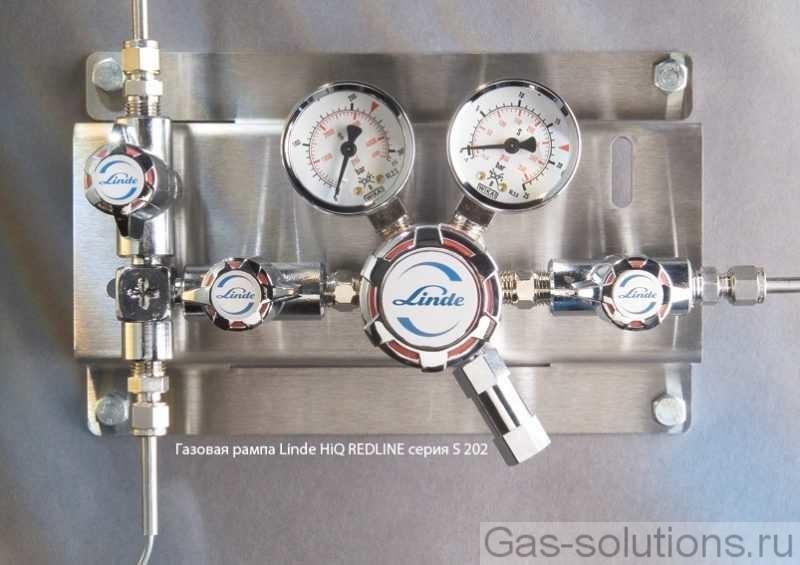 Газовая рампа Linde HiQ REDLINE серия S 202
