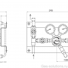 Газовая рампа Linde HiQ REDLINE серия S 202_чертеж