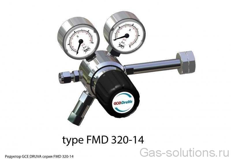 Редуктор GCE DRUVA серия FMD 320-14