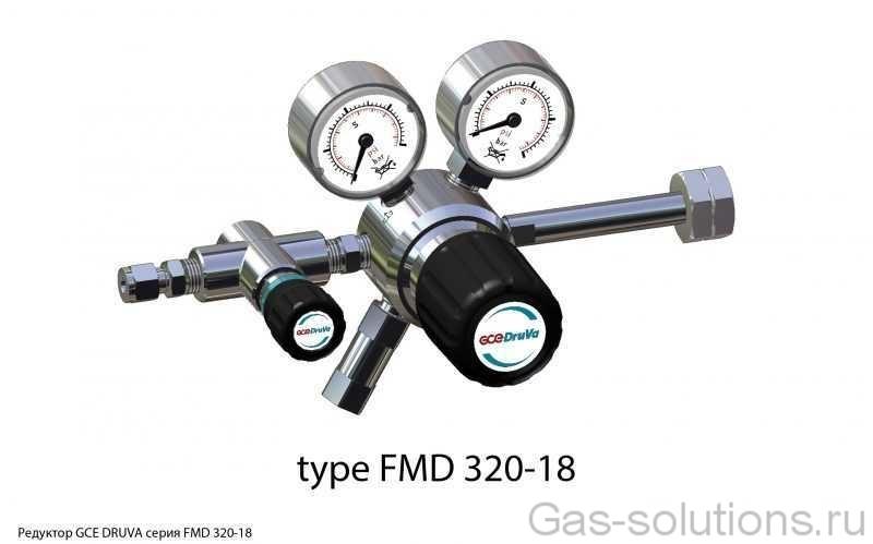 Редуктор GCE DRUVA серия FMD 320-18