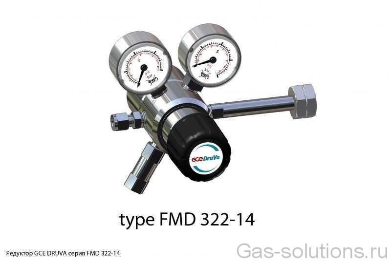 Редуктор GCE DRUVA серия FMD 322-14