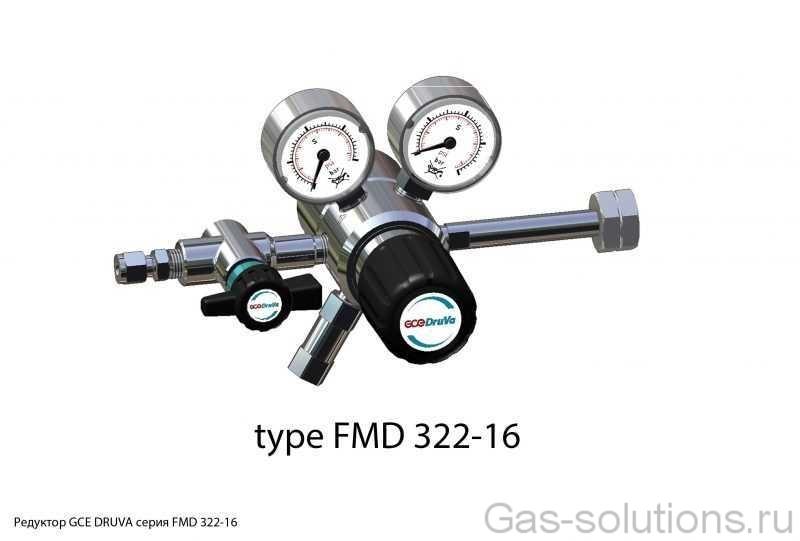 Редуктор GCE DRUVA серия FMD 322-16