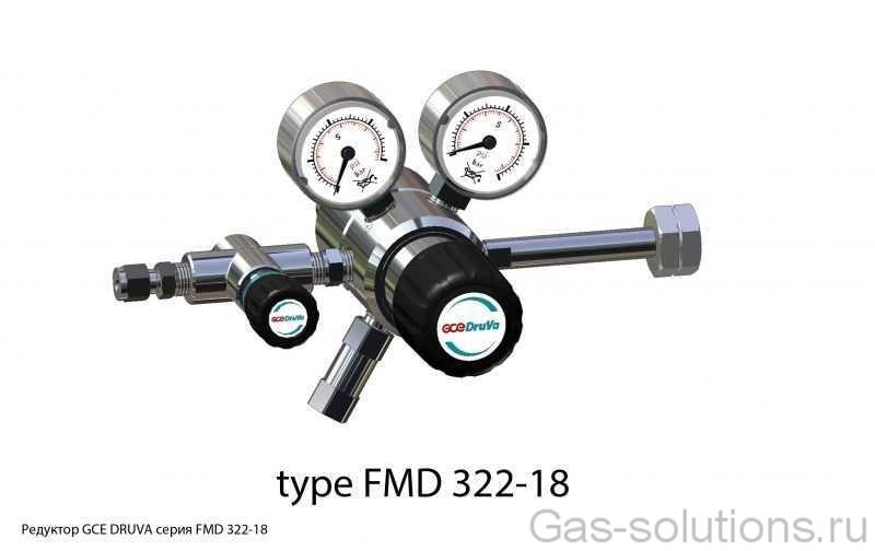 Редуктор GCE DRUVA серия FMD 322-18