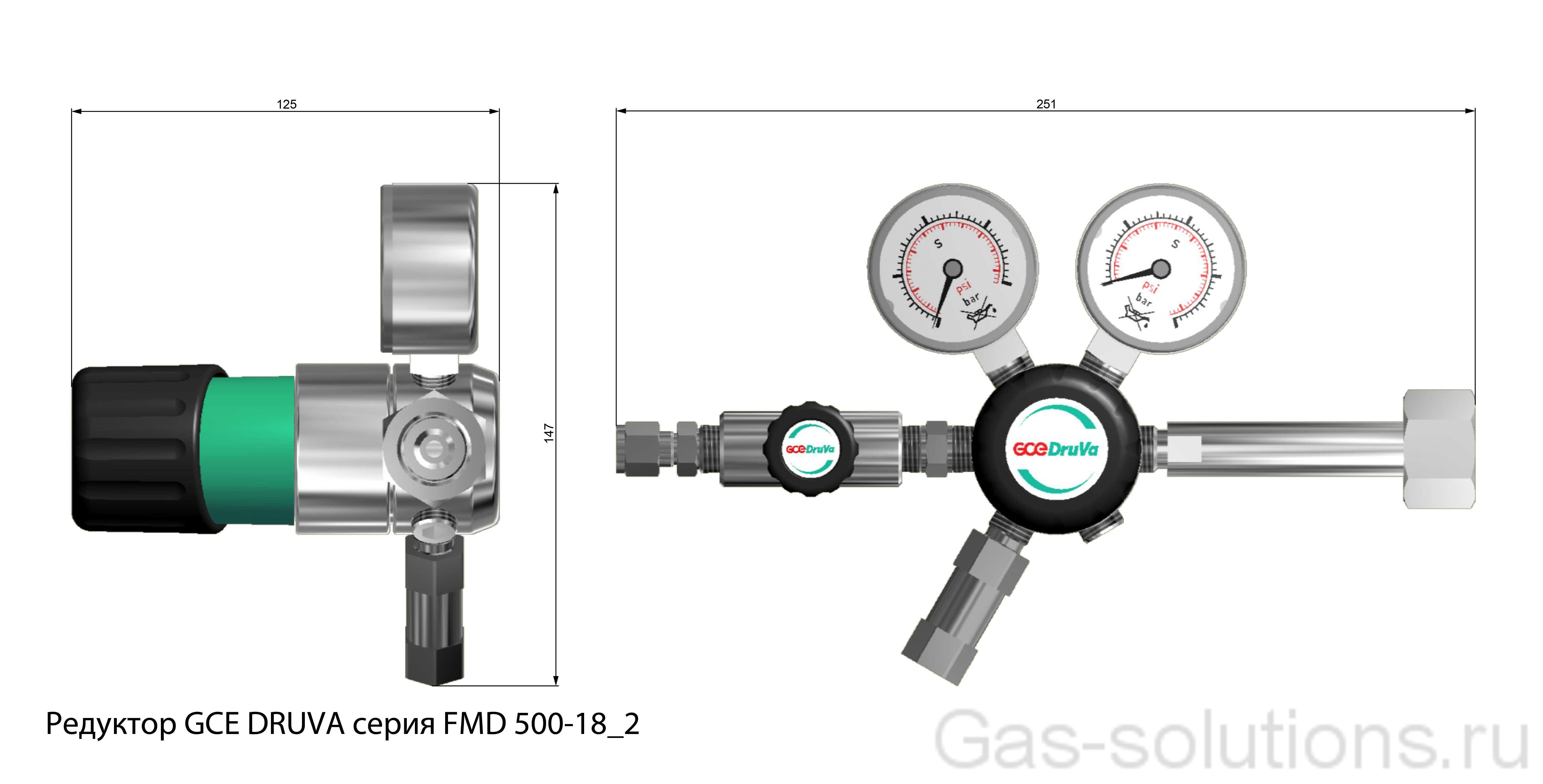 Редуктор GCE DRUVA серия FMD 500-18_2