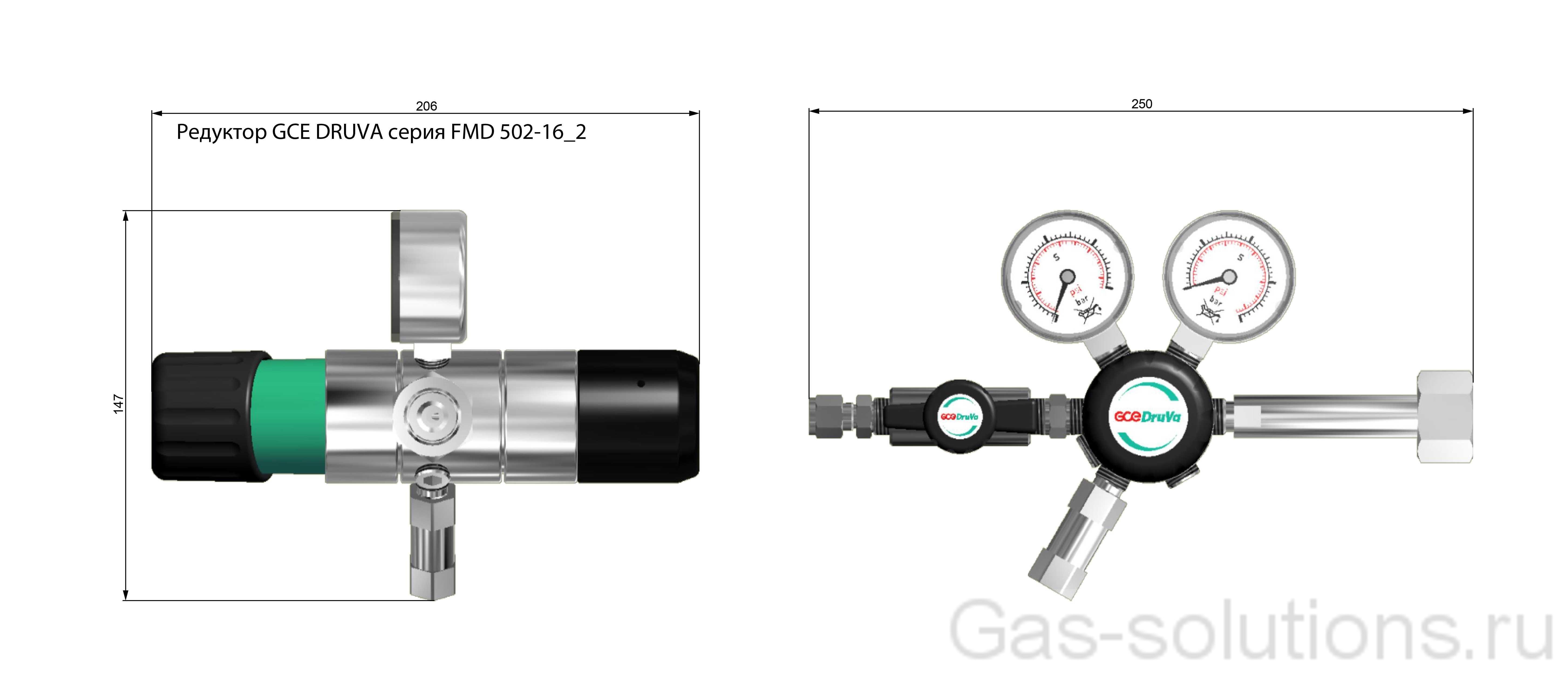 Редуктор GCE DRUVA серия FMD 502-16_2