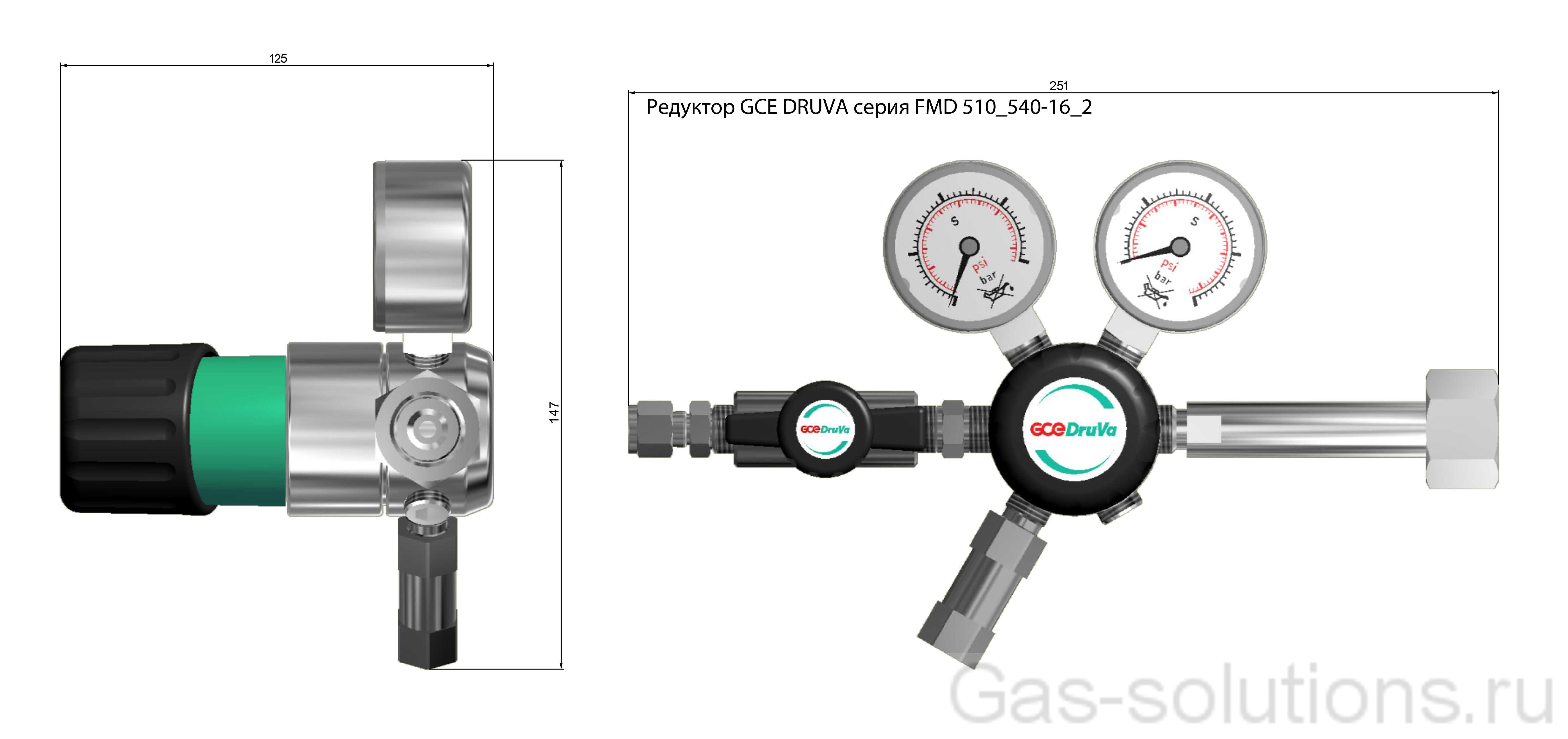 Редуктор GCE DRUVA серия FMD 510_540-16_2