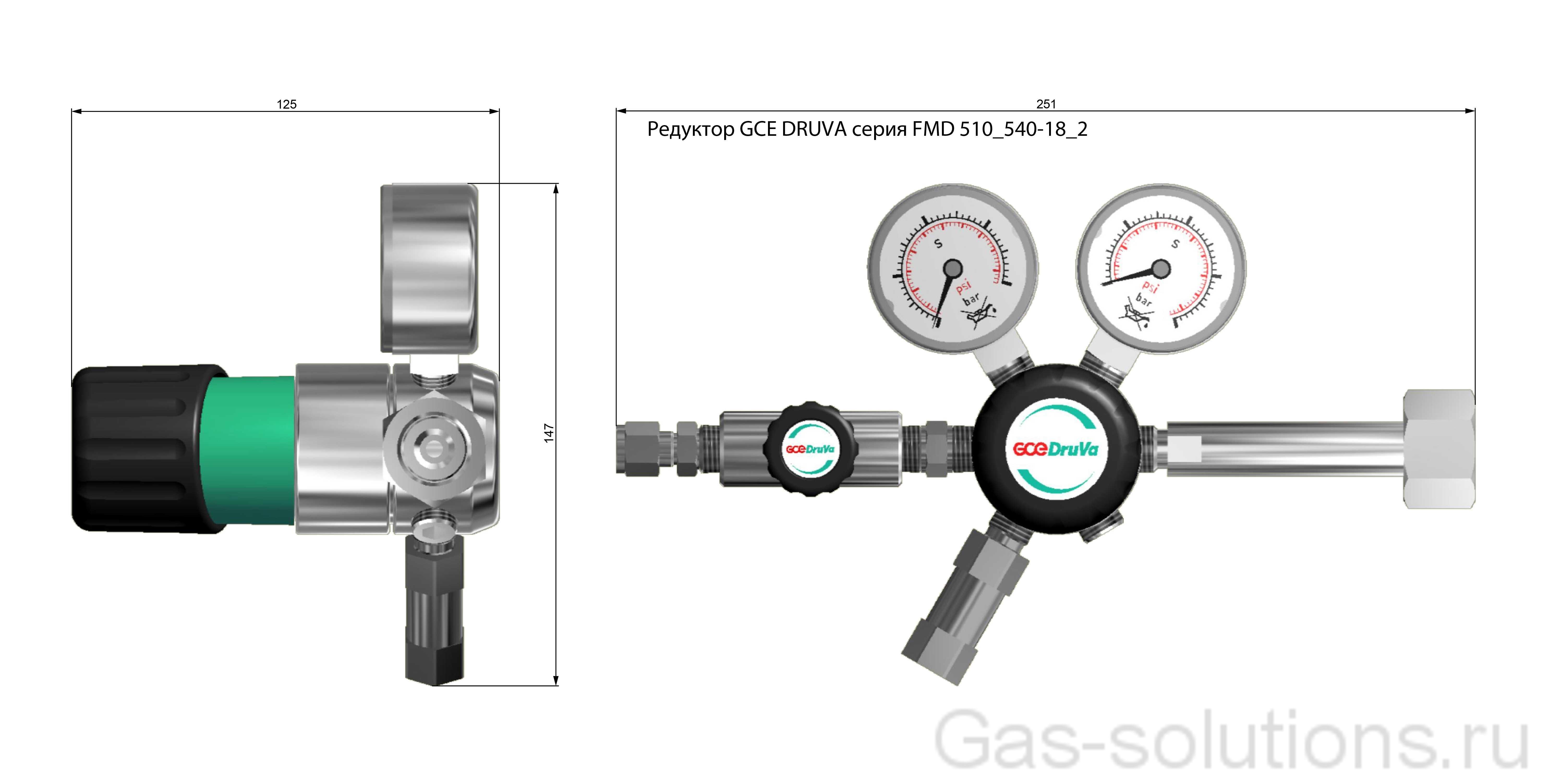 Редуктор GCE DRUVA серия FMD 510_540-18_2