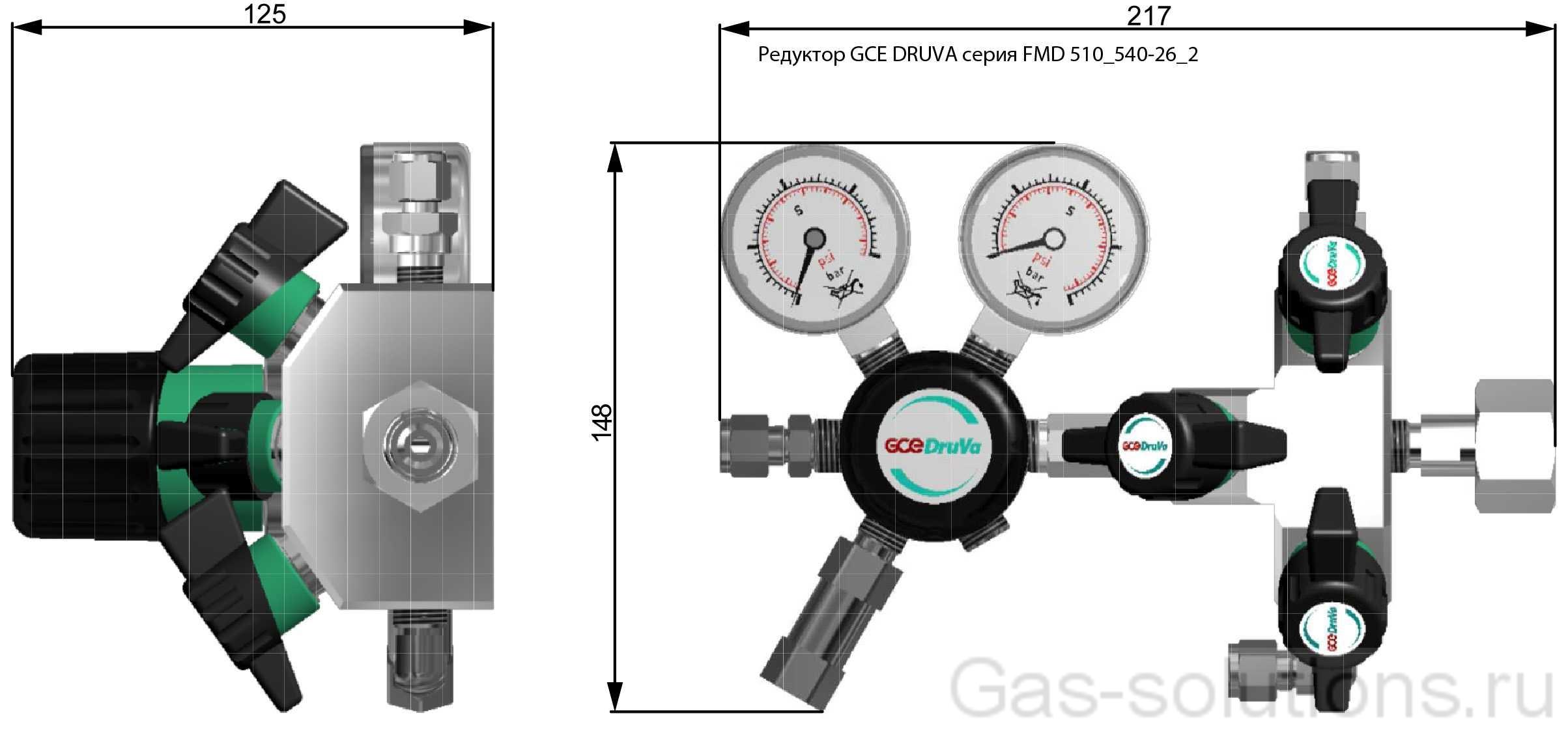 Редуктор GCE DRUVA серия FMD 510_540-26_2