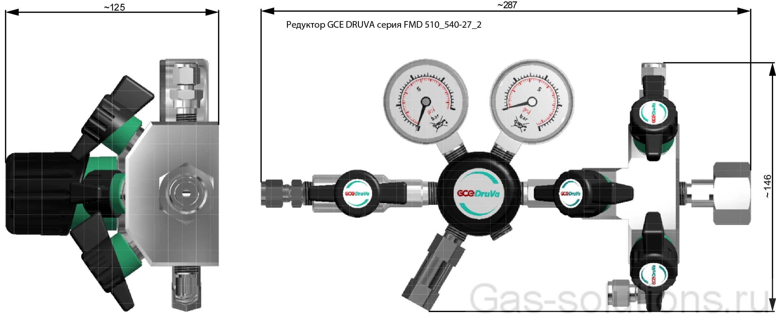 Редуктор GCE DRUVA серия FMD 510_540-27_2