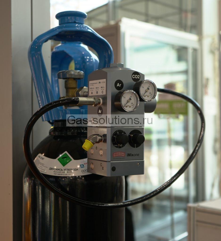 Cмеситель газов IBEDA ImixOne на выставке Weldex2019