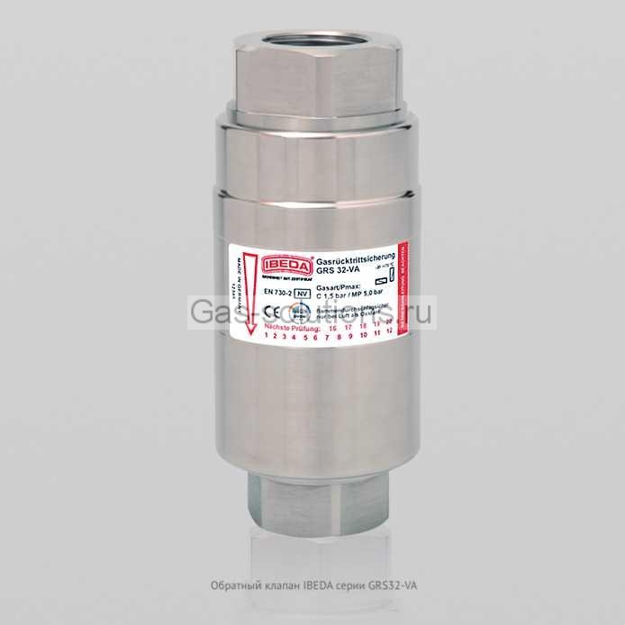 Обратный клапан IBEDA серии GRS32-VA