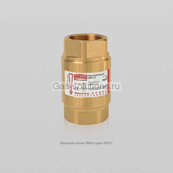 Обратный клапан IBEDA серии GRV32