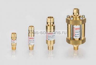Огнепреградительные и обратные клапаны IBEDA