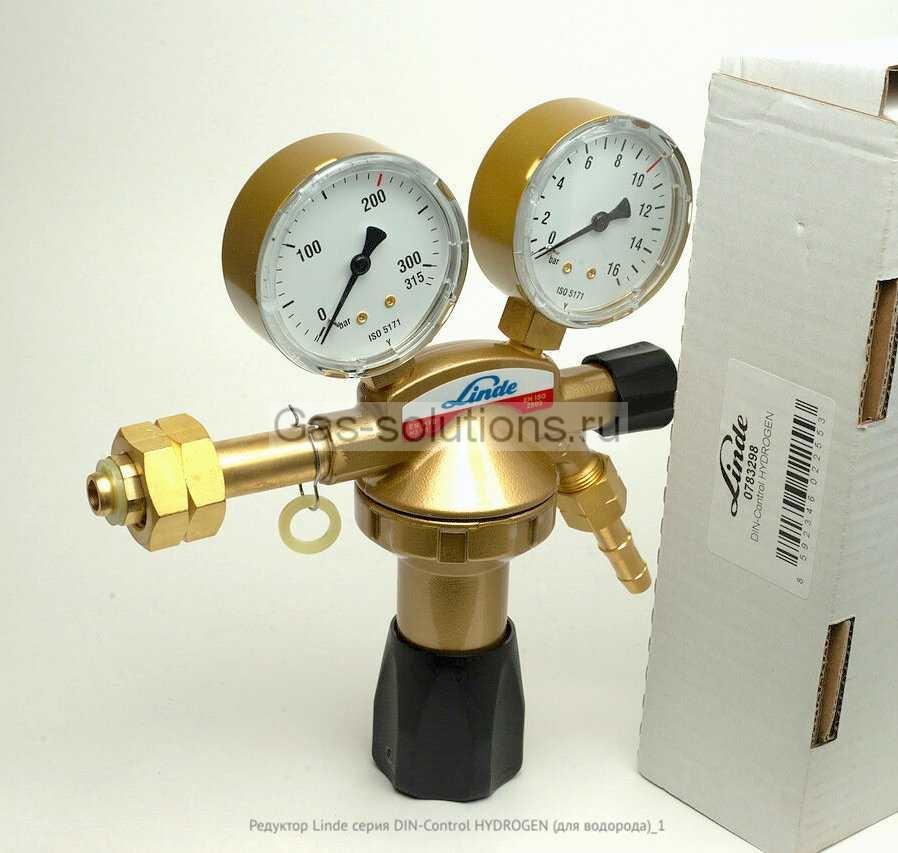 Редуктор Linde серия DIN-Control HYDROGEN (для водорода)_1