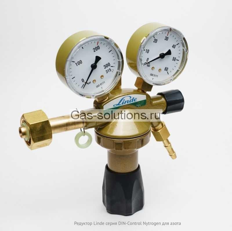 Редуктор Linde серия DIN-Control Nytrogen для азота