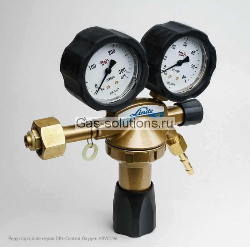 Редуктор Linde серия DIN-Control Oxygen ARV0196
