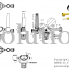 Редуктор Cavagna серии 6000D Ar_CO2 с расходомером_ чертеж